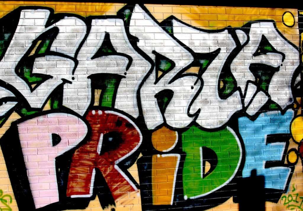 Garza pride mural