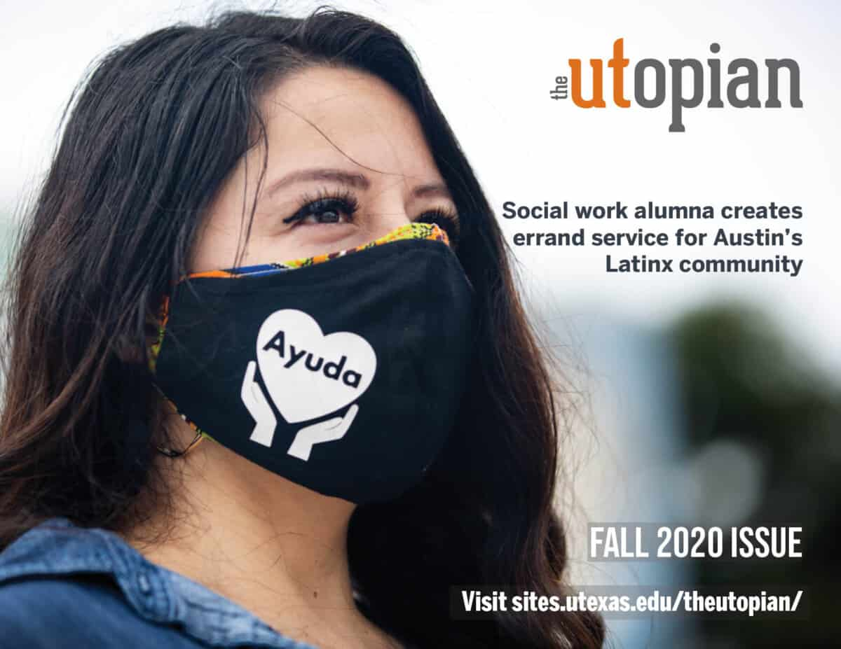 The Utopian Fall 2020 Issue Cover