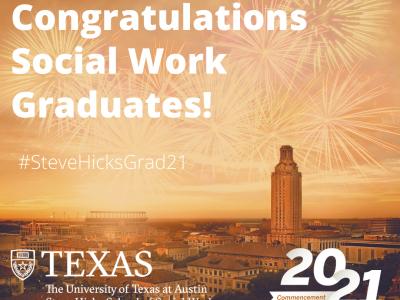 Congratulations social work graduates